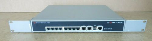 Fortinet FortiGate-110C FG-110C Firewall Security VPN Appliance P04551-05-06